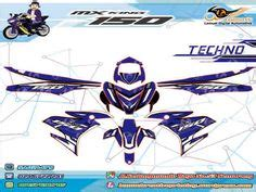 Sticker Striping Motor Yamaha Jupiter Mx Graffis Hayabusa Biru Spec B 2 Barometer Sticker Digital Apparel Digital Dan Produk