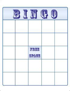 make your own bingo cards template free bingo card template large printable blank bingo