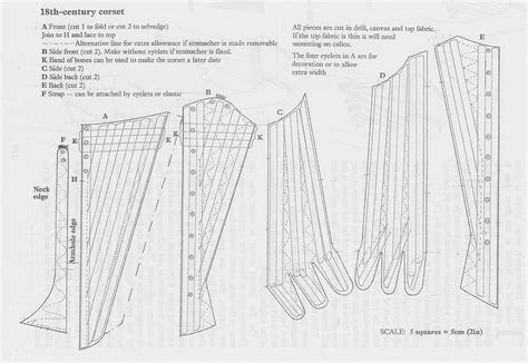 corset cutting and revisededition books wardrobe stays