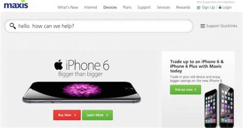 maxis unveils its iphone 6 and iphone 6 plus plans and pricing lowyat net