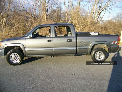2001 gmc 1500 hd 2001 gmc 1500 hd slt crew cab 4 door 6 0l