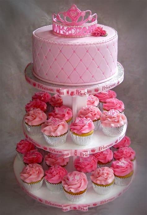 Madison's Princess Themed First Birthday Cupcake Tree ... Giant Pink Teddy Bear