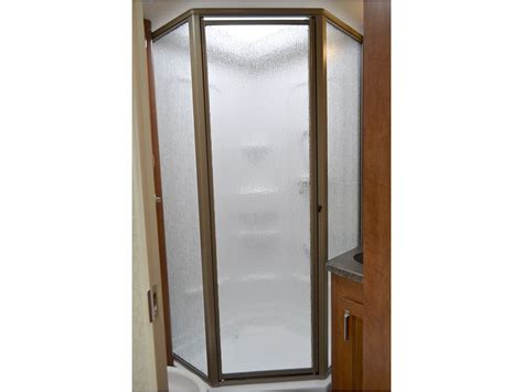Angle Shower Doors Lance 2155 Travel Trailer Your Island Oasis Awaits All New Dual Slide Island Floor Plan With