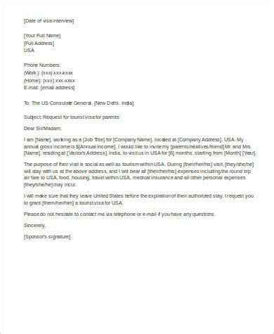 Support Letter For L1 Visa affidavit of support letter for visitor visa docoments