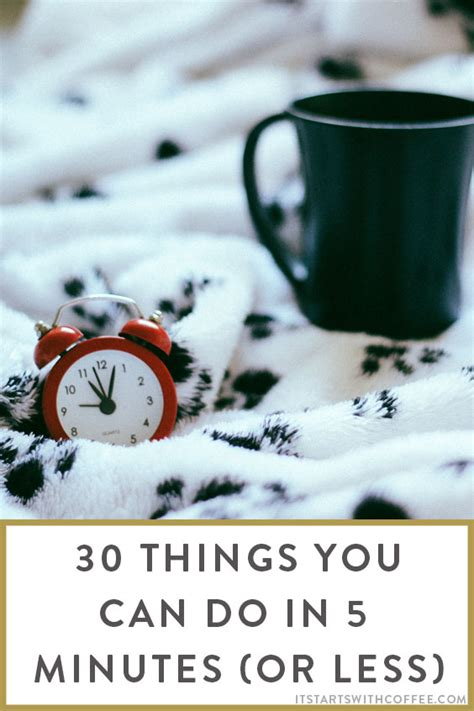 Nine Things You Do Not About Tea by 30 Things You Can Do In 5 Minutes Or Less It Starts With
