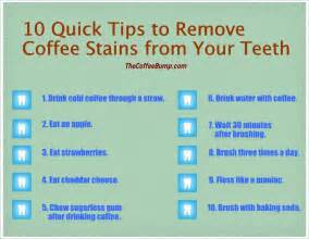 how can you keep your teeth free from coffee stains 10