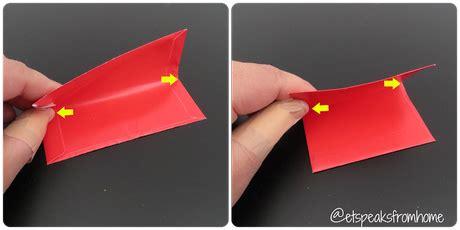 Ang Pow Paper Folding - how to make a new year ang bao pow 10