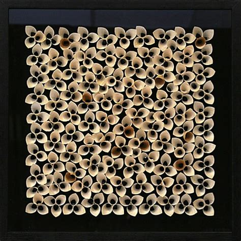 Box Tissue Flower 3d buy 3d paper flower shadow box wall from bed bath beyond