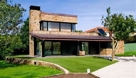 casas con chimenea fachadas de casas con chimenea