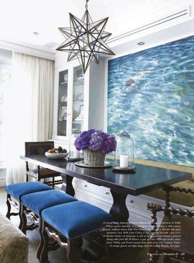 Blue Bench Living Room Blue Benches Home Decor Blue Dining Rooms