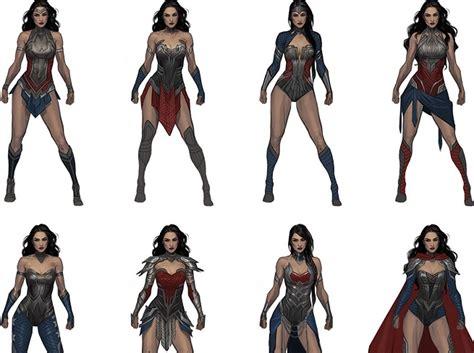 design vs concept injustice 2 concept designs vs final designs which are