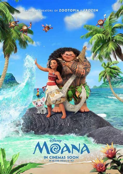 film moana complet moana 2016 poster 4 trailer addict