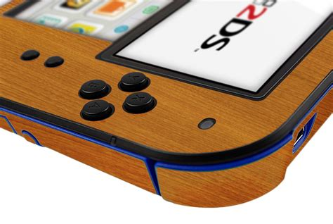 Nintendo 2ds Giveaway - skinomi techskin nintendo 2ds light wood skin protector