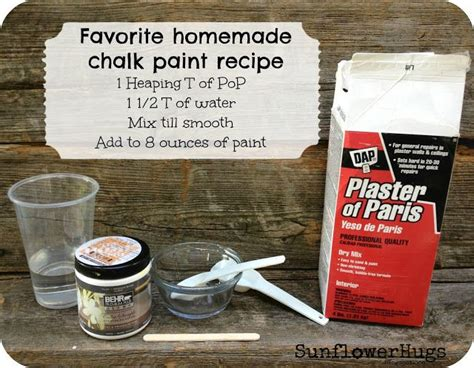 chalk paint recipe with baking soda how to make chalk paint chalk paint recipes