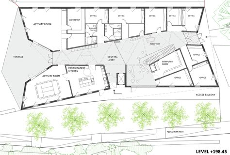 family home plans com gallery of community centre in bill 232 re bandapar