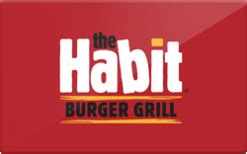 The Habit Gift Card - habit burger gift card discount