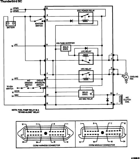 eec power diode 1991 coupe no spark