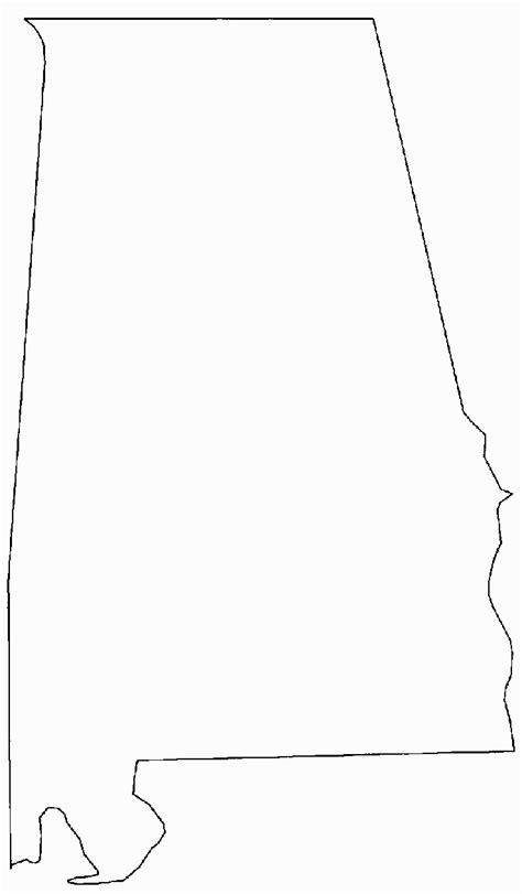 alabama map outline alabama
