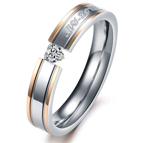 Aliexpress.com : Buy His And Hers Promise Ring Sets