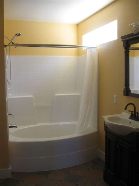acrylic bathtub shower combo 525 best images about bath closets on pinterest toilets