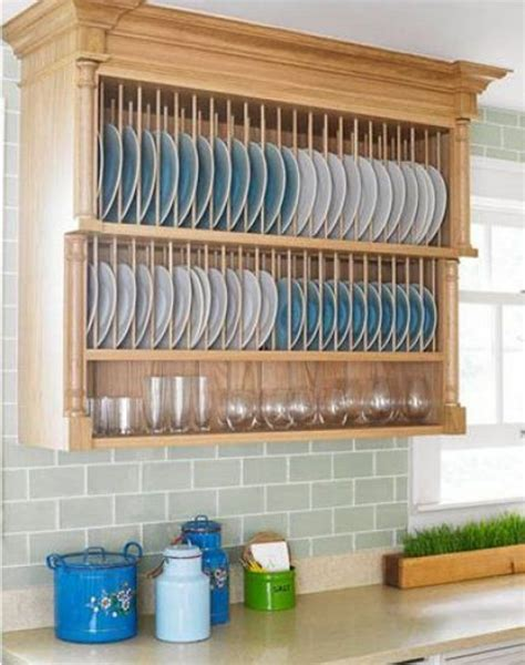 wooden kitchen plate rack cabinet new interior exterior