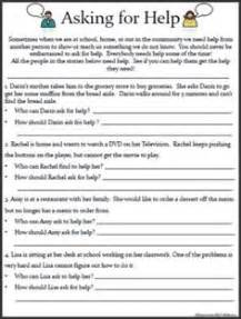 14 life skills worksheets for the classroom pinterest