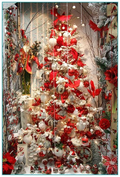 red christmas tree decorations red tree decorations vibrant trees red bird christmas tree decorations billingsblessingbags org