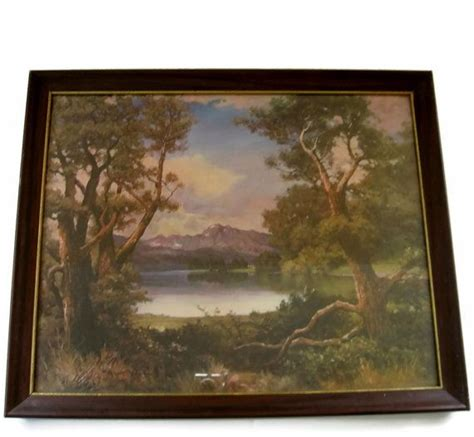 9 Paintings Framing Frame by Vintage Framed Print By Robert Wood By