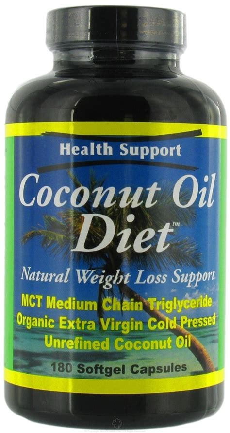 Coconut Detox Diet Australia by Buy Health Support Coconut Diet 180 Softgels At