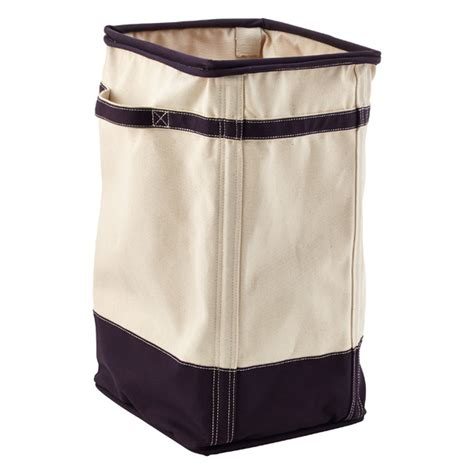 Natural Navy Canvas Laundry Her The Container Store Laundry Canvas