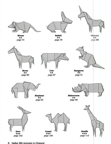 intermediate origami animals comot