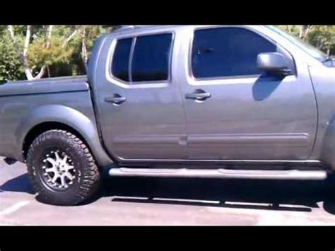 lifted 2006 nissan frontier 2006 nissan frontier with ready lift after youtube
