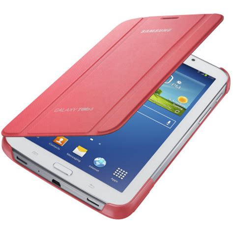 Samsung Original Book Cover For Galaxy Tab 3 Lite 70 3 V T111t110 official samsung galaxy tab 3 7 0 book cover pink