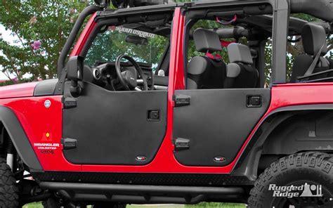rugged ridge half doors rugged ridge jeep wrangler half doors product spotlight truck trend