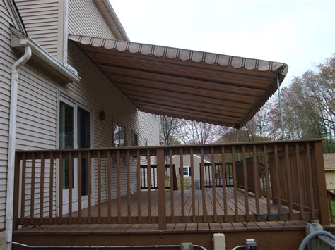 How To Clean Outdoor Fabric Awnings by Patio Awnings In Pittsfield Ma Stationary Sondrini