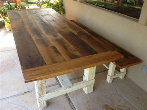 farmhouse dining table and bench reclaimed oak farmhouse table bench farmhouse dining
