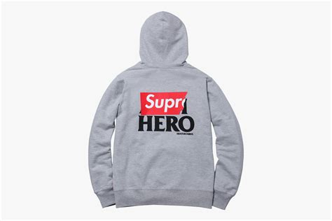 Hoodie Supreme Jaket Murah Sweater Supreme Zipper supreme supreme x antihero zip hoodie what drops now