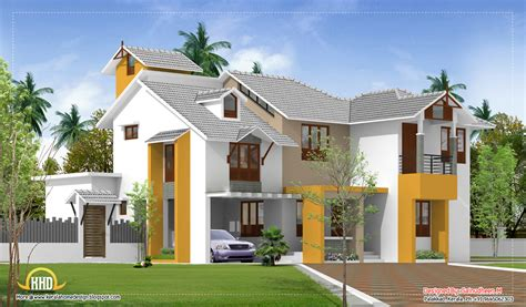 Www Homedesign Com | exterior collections kerala home design 3d views of