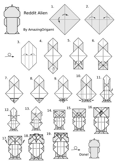 Complex Origami Diagrams Pdf - complex origami comot