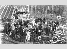 Skanee, Michigan Logging Camp History
