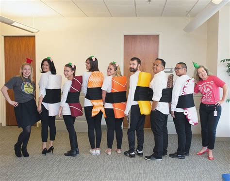 halloween themes for office groups some of the forrent com team members served up one great