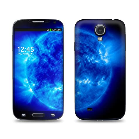 themes on samsung galaxy s4 blue giant galaxy s4 skin istyles