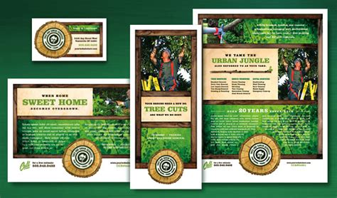 graphic design edge hill cutting edge marketing templates for tree services
