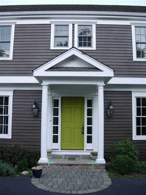 door accent colors for greenish gray dark grey house paint colors pinterest grey front