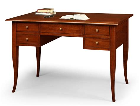 scrivania arte povera scrivania 5 cassetti cm 105