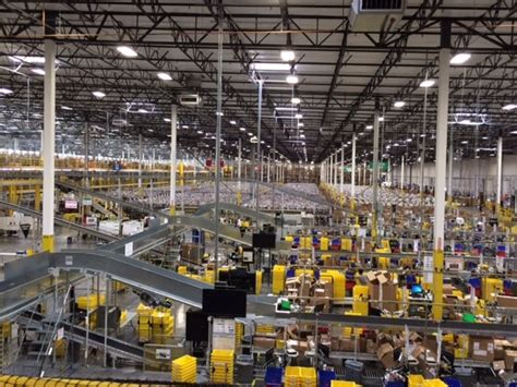 inside amazon this is what it looks like inside an amazon warehouse