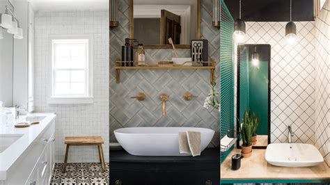 subway style tile subway tile alternatives you ll love for your bathroom