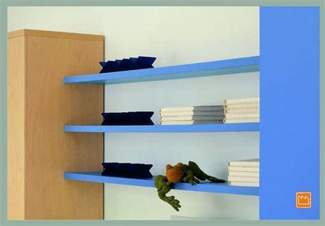 mensole cameretta mensole lineari le camerette per bambini