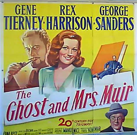 film the ghost and mrs muir 1947 quot ghost and mrs muir the quot movie poster quot the ghost and