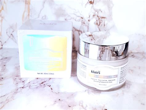 Masker Vitamin Glowing klairs freshly juiced vitamin e mask review hello glow